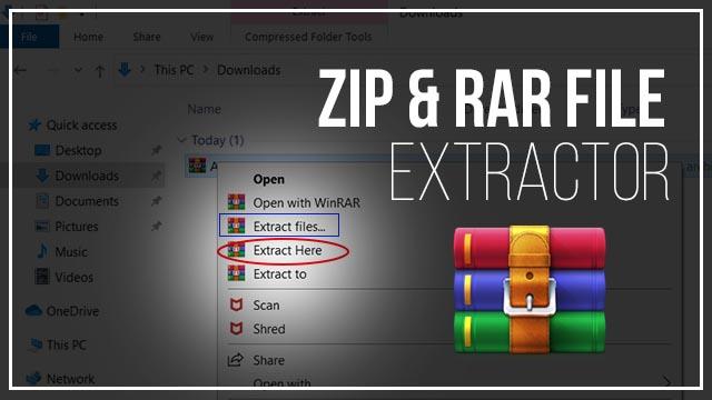 ZIP File Kaise Open Kare