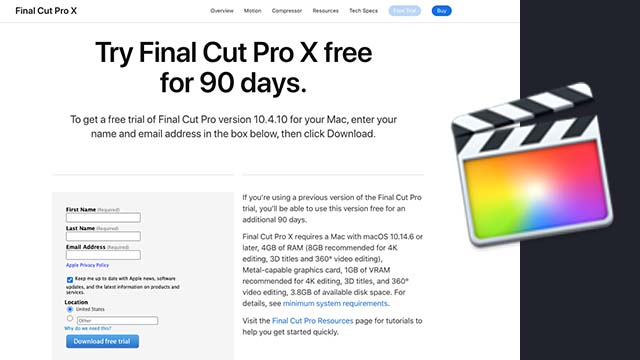 Final Cut Pro Free Download Link