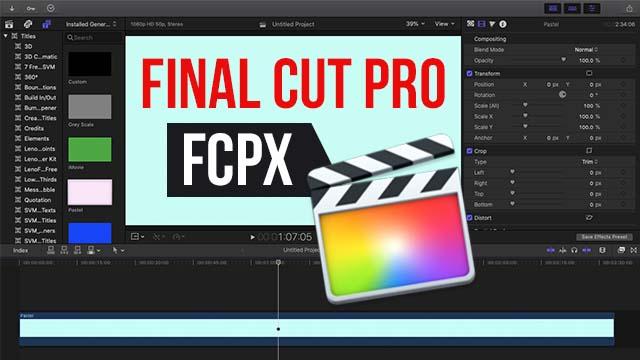 Final Cut Pro Kya Hai