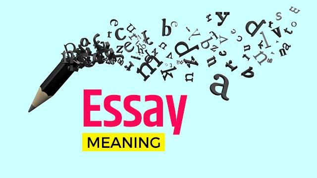Essay Kya Hota Hai