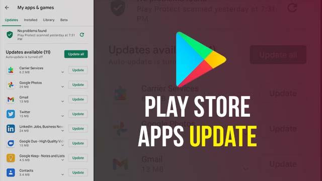 Google Play Store App Update Kaise Kare