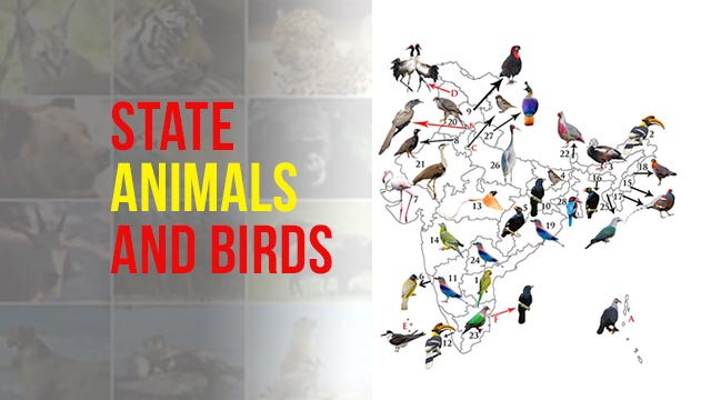 State Animal and Bird of Indian States