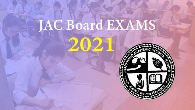 JAC Board Exam Date Sheet 2021