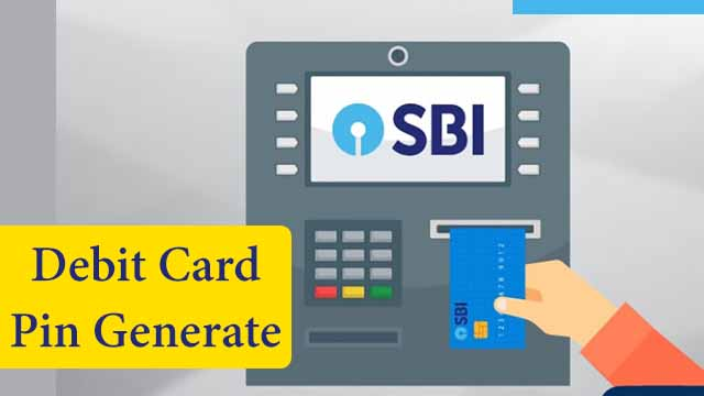 ATM Card PIN Generate Kaise Kare